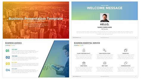 Business Presentation Powerpoint And Keynote Template Slidebazaar Keynote Business Templates