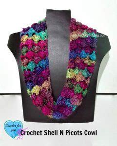 collared cowl free crochet pattern crochet n create free shell picot crochet pattern crochet n create