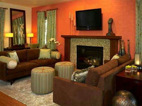 orange living room walls 121 best images about living room on pinterest