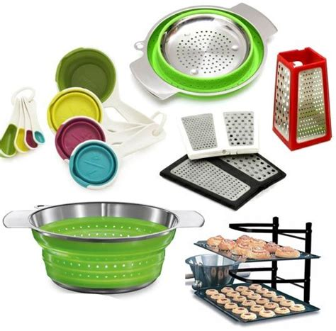space saving kitchen gadgets 5 collapsible foldable and space saving tools for small