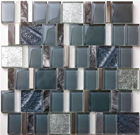 glass mosaic wall tile kitchen backsplash sgmt163