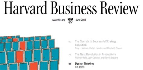 design thinking harvard business review 36 best images about ynnovate leerroute naar de kern on