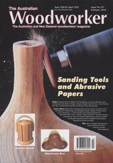 australian woodworker magazine subscription isubscribe
