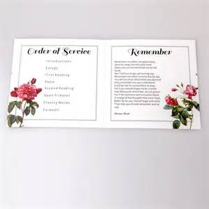 funeral service sheet template 1000 ideas about funeral order of service on