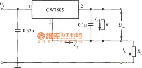 integrated circuit current regulator constant current source circuit consisted of three terminal fixed output integrated voltage