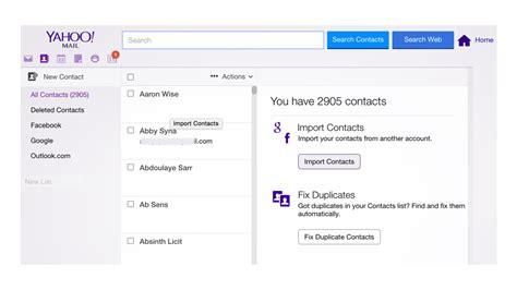 fb yahoo trouvez les vrais emails de vos contacts facebook en 3 clics