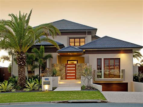 photo of a pavers house exterior from real australian home