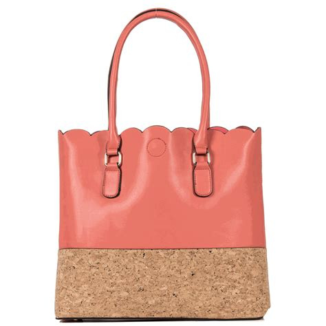 Monogramme Toto by Faux Leather Carry All Tote Bag Monogrammed