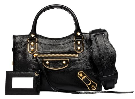 Balenciaga Mini And City Edge introducing balenciaga metallic edge bags purseblog