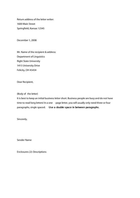 buisness letter template prade co lab co