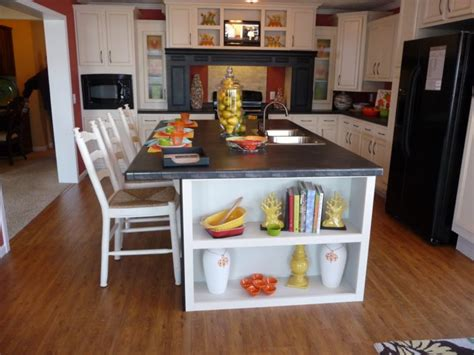 Kitchen Island Decorations Make Your Kitchen Shiny With Granite Counter Tops Decor Kitchen Segomego Home Designs