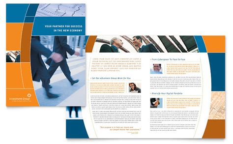 brochure samples pics brochure layout templates