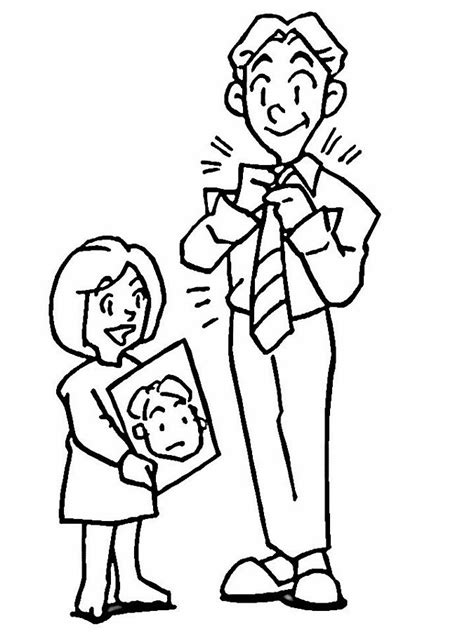 free for dad coloring pages