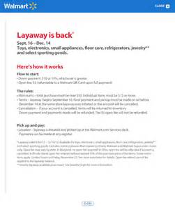 layaway agreement template walmart s changed its layaway terms but layaway still