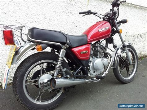 Suzuki For Sale Suzuki Gn125 Custom Motorcycle 11 Reg For Sale In United