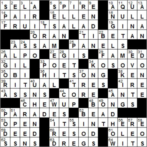 usa today crossword solutions july 10 2015 1029 14 new york times crossword answers 29 oct 14