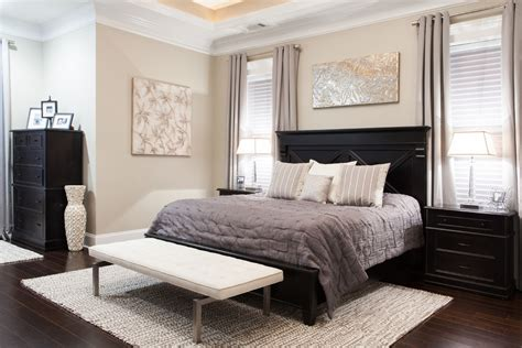 black bed bedroom ideas impressive black dressers vogue charleston transitional