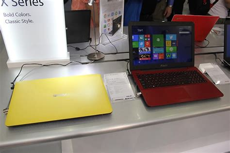 Laptop Asus Warna Merah asus x555 laptop colorful bertenaga intel broadwell