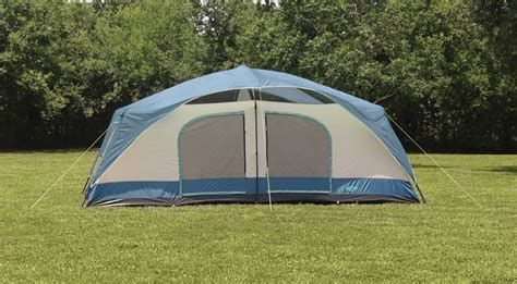texsport blue mountain two room cabin dome tent
