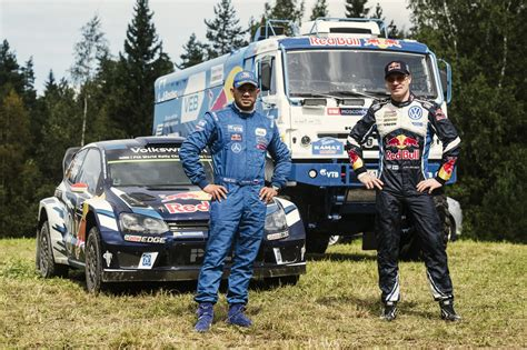 Rally Auto Jazda by Vw Polo R Wrc Vs Kamaz Truck Youtube