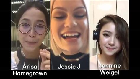 jessie j karaoke flashlight jessie j arisa jannine weigel smule sing