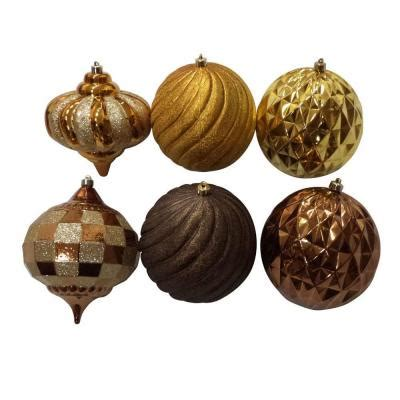 150 mm shatterproof ornament box set 6 piece hg34