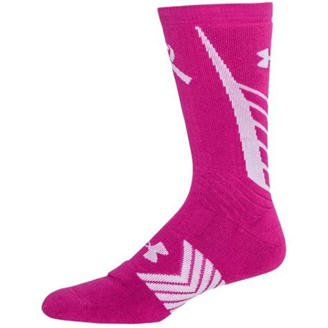 under armoir socks under armour undeniable power in pink men s crew socks