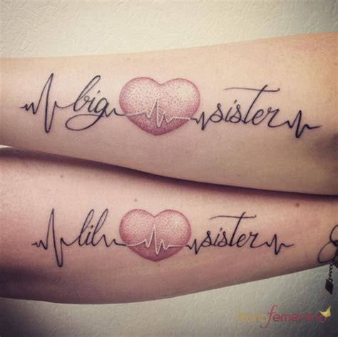 tatuajes para hermanas la hermana peque 241 a y la hermana mayor