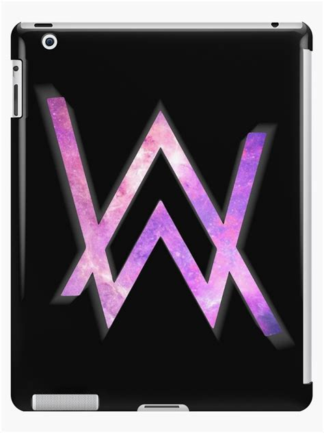 alan walker colors quot alan walker logo quot ipad cases skins by taplome redbubble