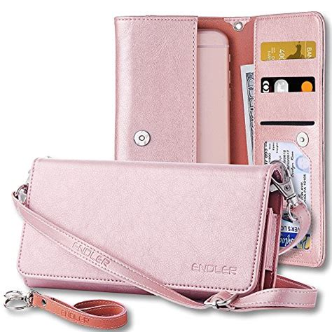 Pouch Clutch Purse For Iphone 7plus Samsunggalaxyc9 Wallet iphone 6 plus 6s plus cases smartphone wallet endler