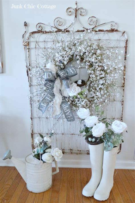 shabby chic garden decor 25 best ideas about shabby chic garden on garden ladder simple garden ideas and