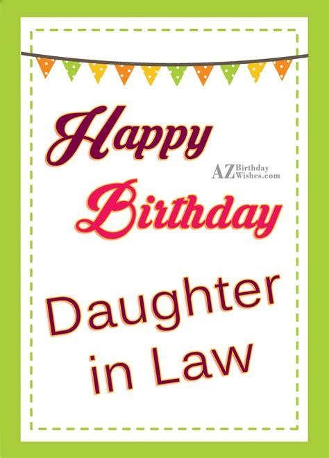 in law birthday wishes for daughter in law