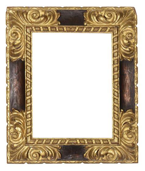 cornici intagliate coppia di cornici intagliate e dorate a mecca xvii secolo