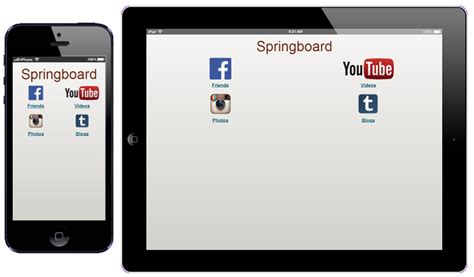 jquery mobile layout grid exles jquery mobile springboard navigation intel 174 software
