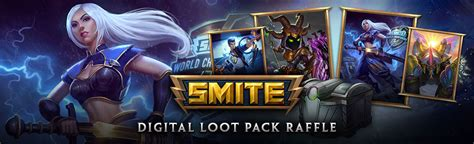 Smite Giveaway 2017 - smite 2017 digital loot pack raffle closed