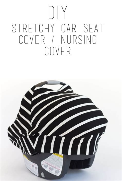 diy car seat cover do it yourself divas diy stretchy car seat cover baby
