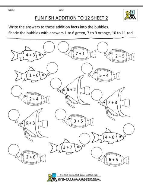 Math Worksheets For Grade 2 by Grade Math Activities