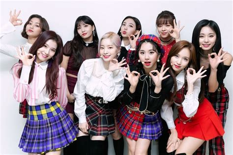 twice yes or yes win twice takes 3rd win for yes or yes on inkigayo soompi