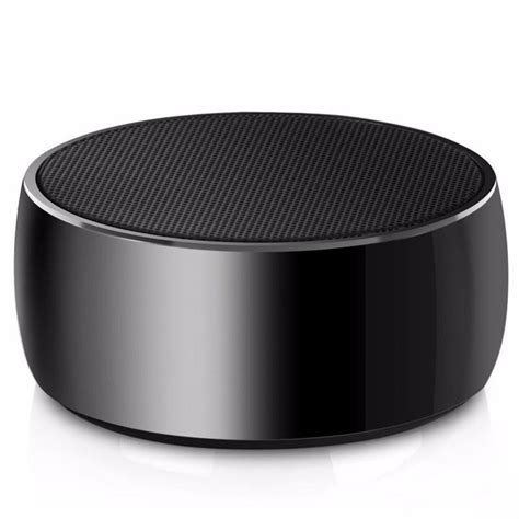 metal mini portable bluetooth speaker bass bs 10 black jakartanotebook