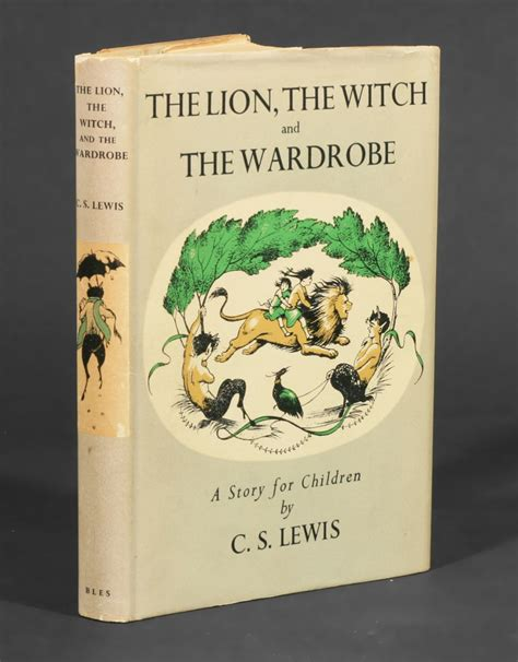 The The Witch And The Wardrobe By Cs Lewis by The The Witch And The Wardrobe C S Lewis 1st