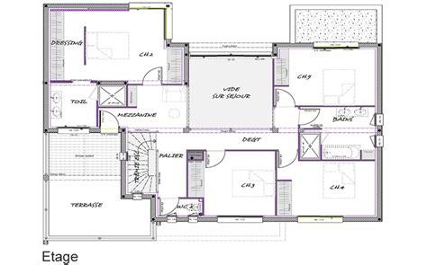 plan de la etage sous sol
