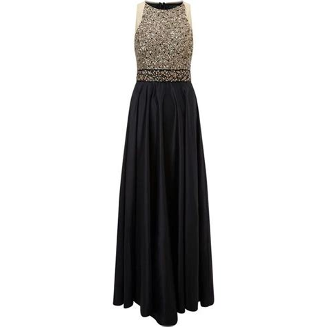ariella ziana skirt dress black gold 360 liked on