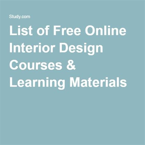 online interior design courses best 25 interior design schools ideas only on pinterest