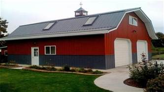 barns with living quarters pole barns with living quarters barn living metal
