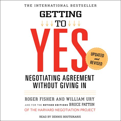 getting books getting to yes audiobook by roger fisher william ury