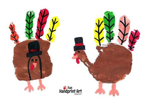 printable turkey handprint pilgrim turkeys thanksgiving handprint craft fun