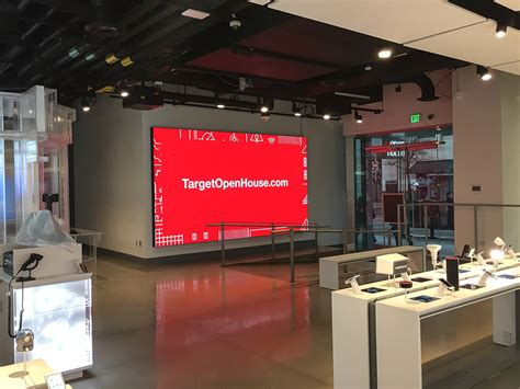 target open house best led display screen panels