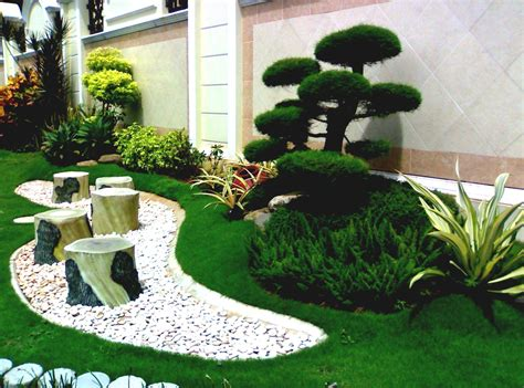simple garden design ideas for spacious backyard