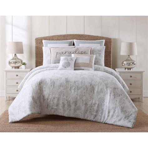 toile comforter sets queen oceanfront resort tropical plantation toile full queen