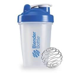 sundesa blender bottle with blender ball blue 12 oz bottle iherb com